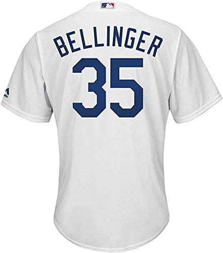 Outerstuff Cody Bellinger Los Angeles Dodgers Infants White Home Cool Base Replica Jersey