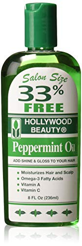 Hollywood Beauty Peppermint Oil, 8 Oz