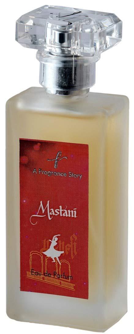 A Fragrance Story - Mastani 50 ml. Eau De Parfum Long Lasting. Fragrance Family- Floral Oriental. Its blend of Rose, Saffron, Sandalwood, Musk. Ideal for Women
