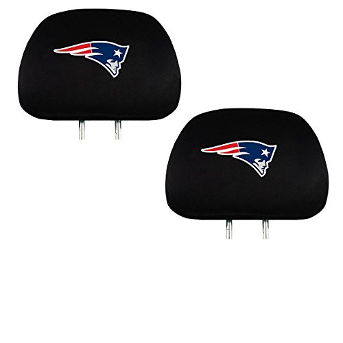 Team ProMark Official National Football League Fan Shop Authentic Headrest Cover (New England Patriots)