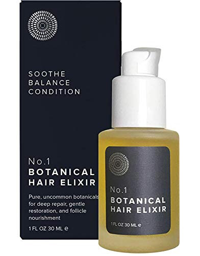 Hairprint - No. 1 Botanical Hair Elixir - Nourishing | Clean, Non-Toxic Haircare (1 fl oz | 30 ml)