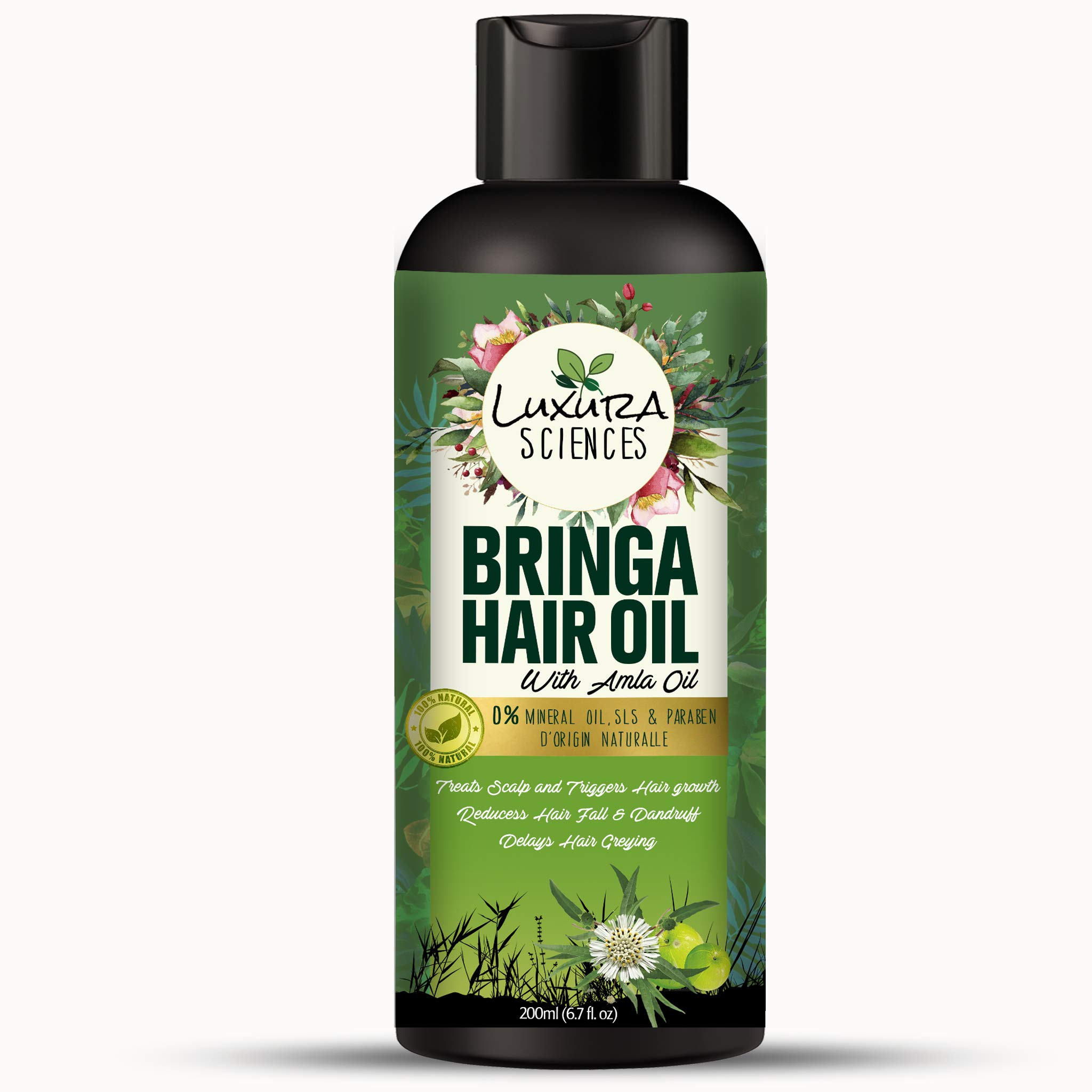 Luxura Sciences Bhringraj Hair Oil