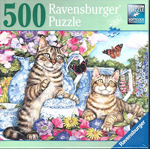 Ravensburger Cats and Butterflies 500 piece Puzzle